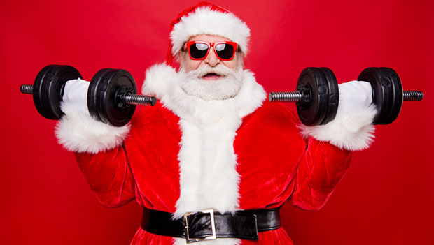 how to workout more over the holiday season