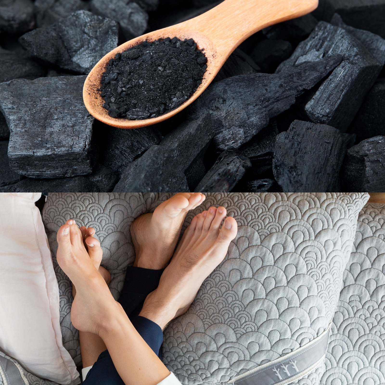 benefits of charcoal infused memory foam