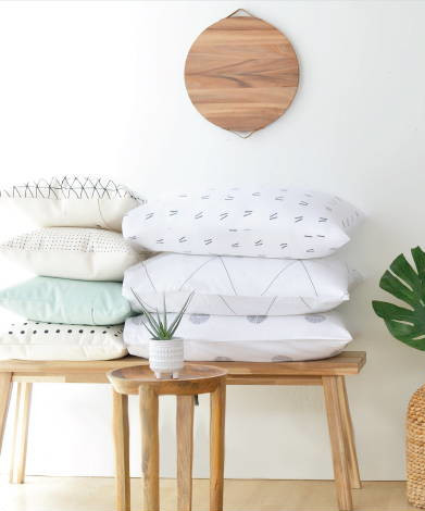 american minimalist bedding