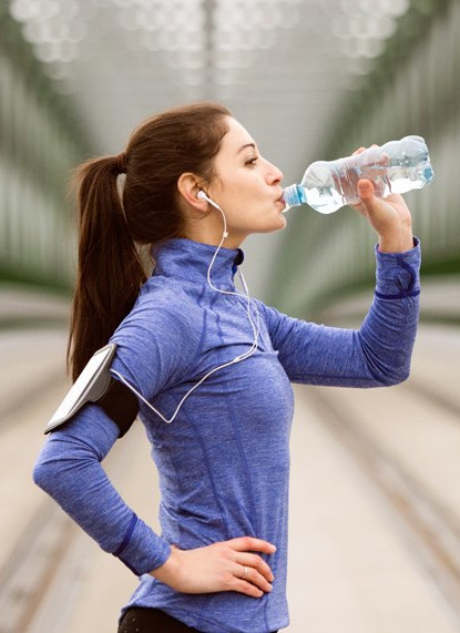 stay hydrated to keep your energy high