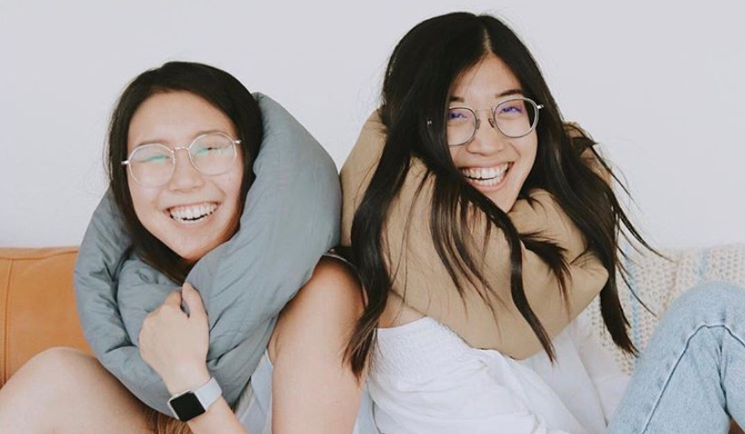 perfect comfort from the infinity travel pillow