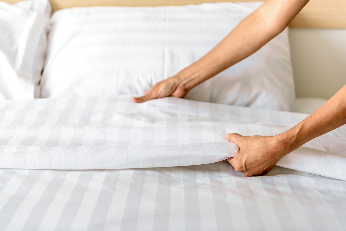make your bed first thing