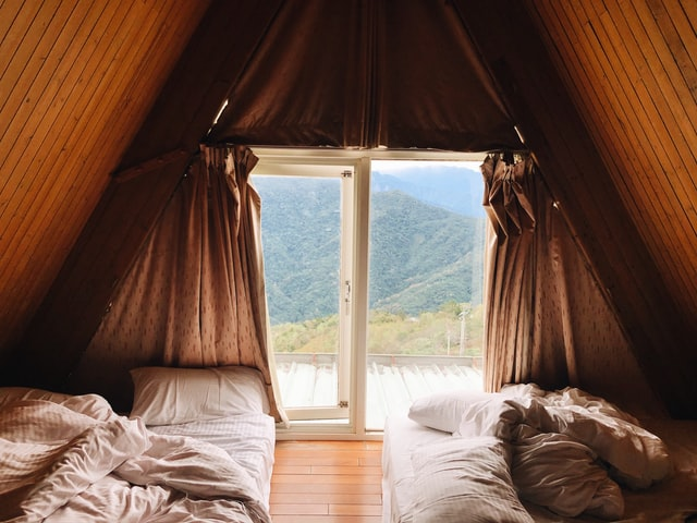using blackout curtains for the perfect bedroom