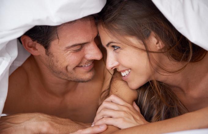 sleeping naked increases intimacy