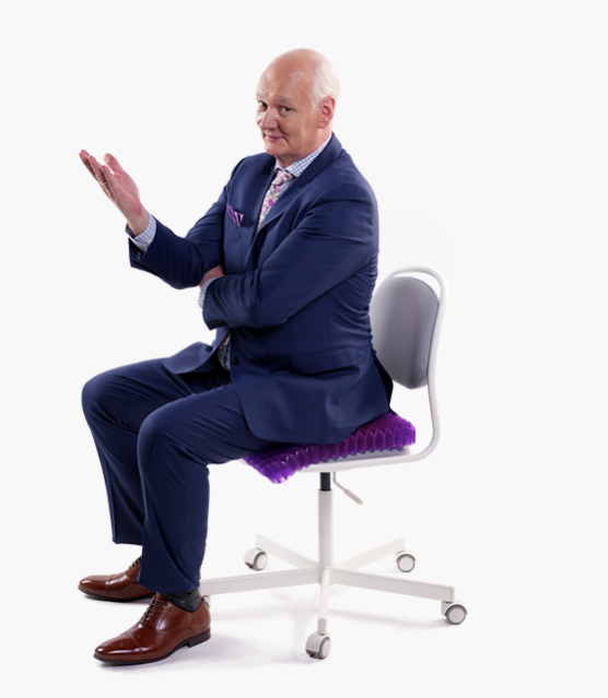The purple seat cushion review