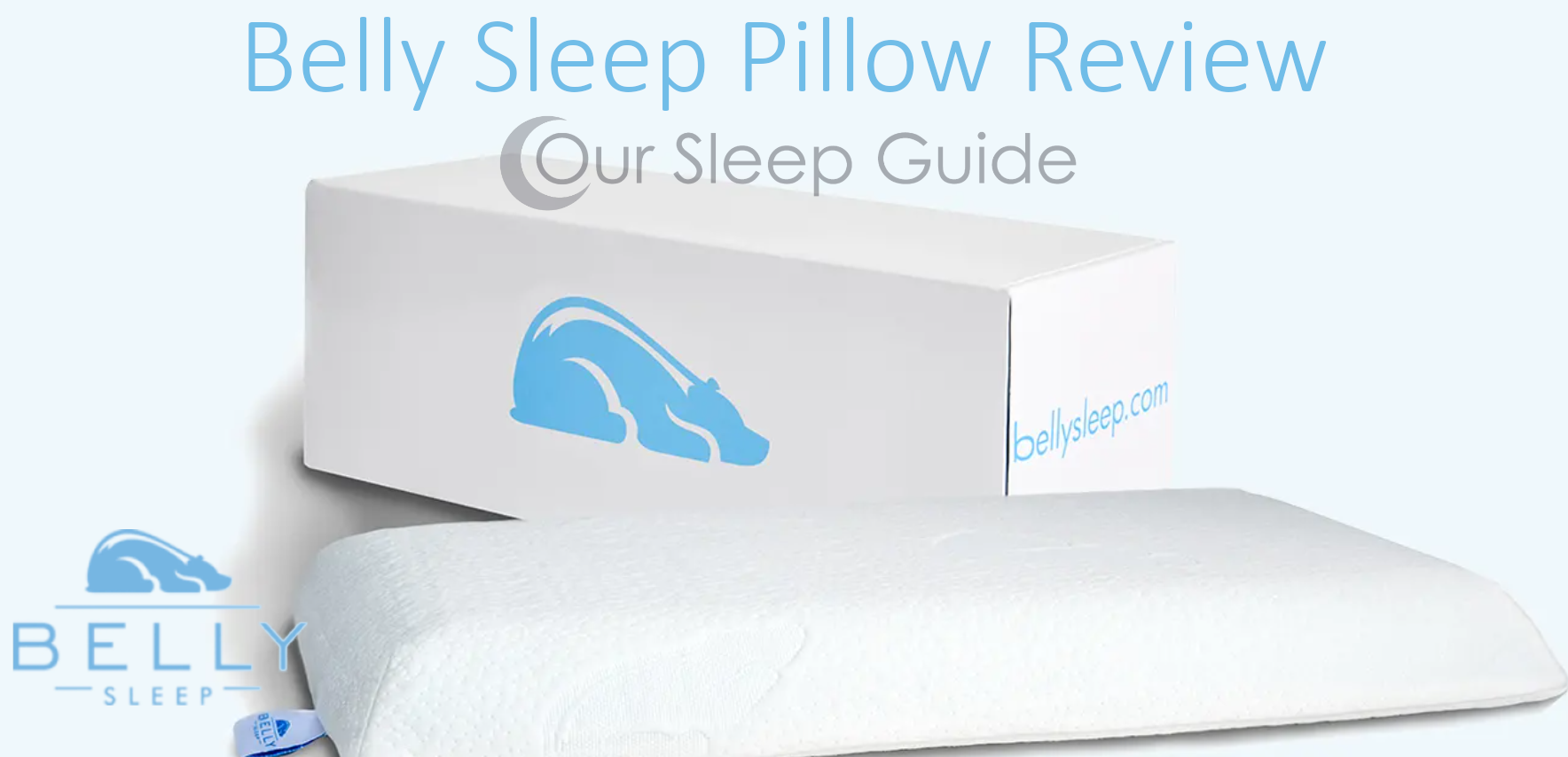 belly sleep pillow review