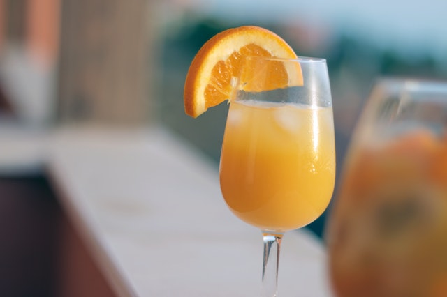 mimosa glasses great for bed