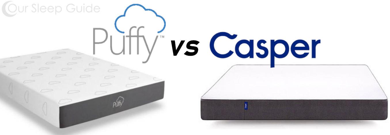 puffy vs casper mattress comparison review