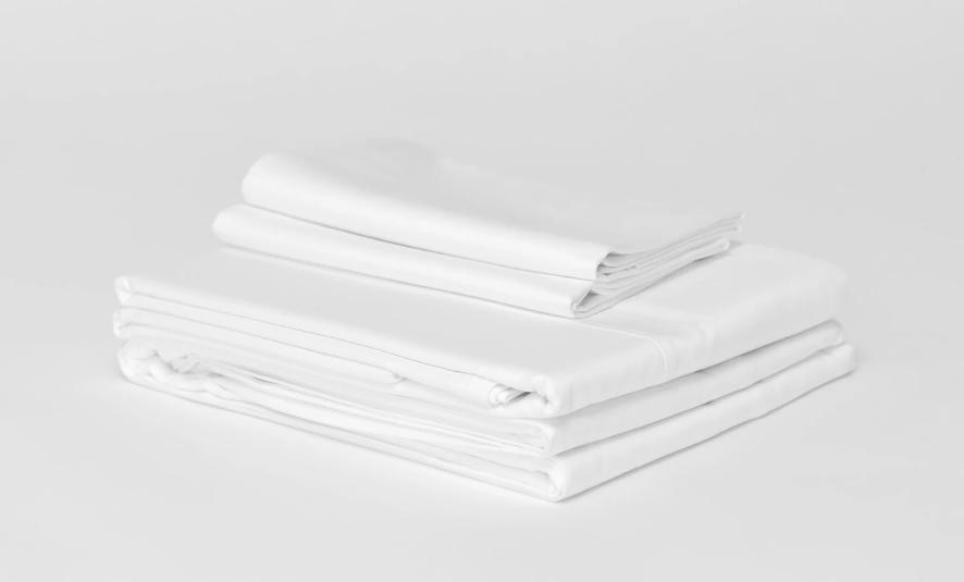 sateen sheet set by California Cotton