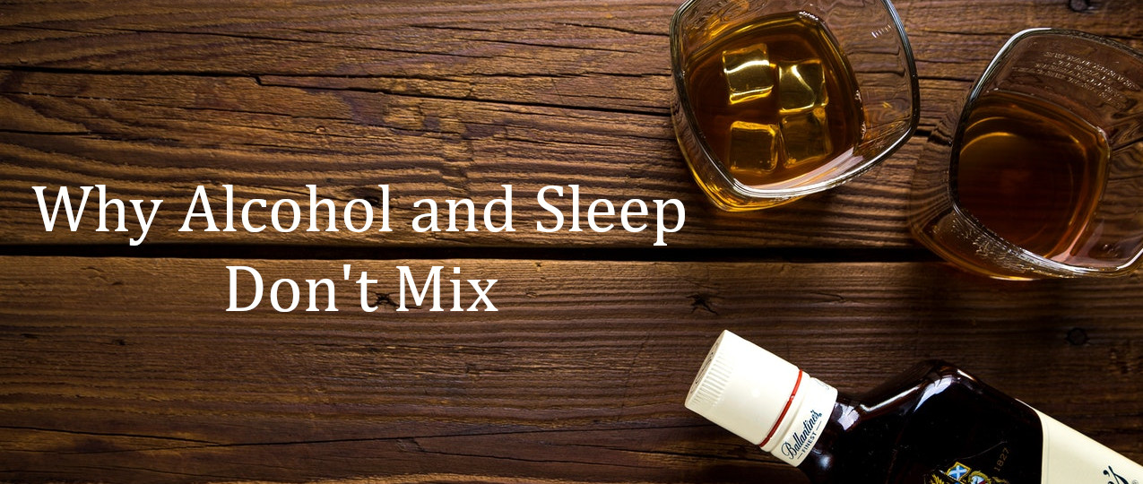does alcohol make it difficult to sleep?