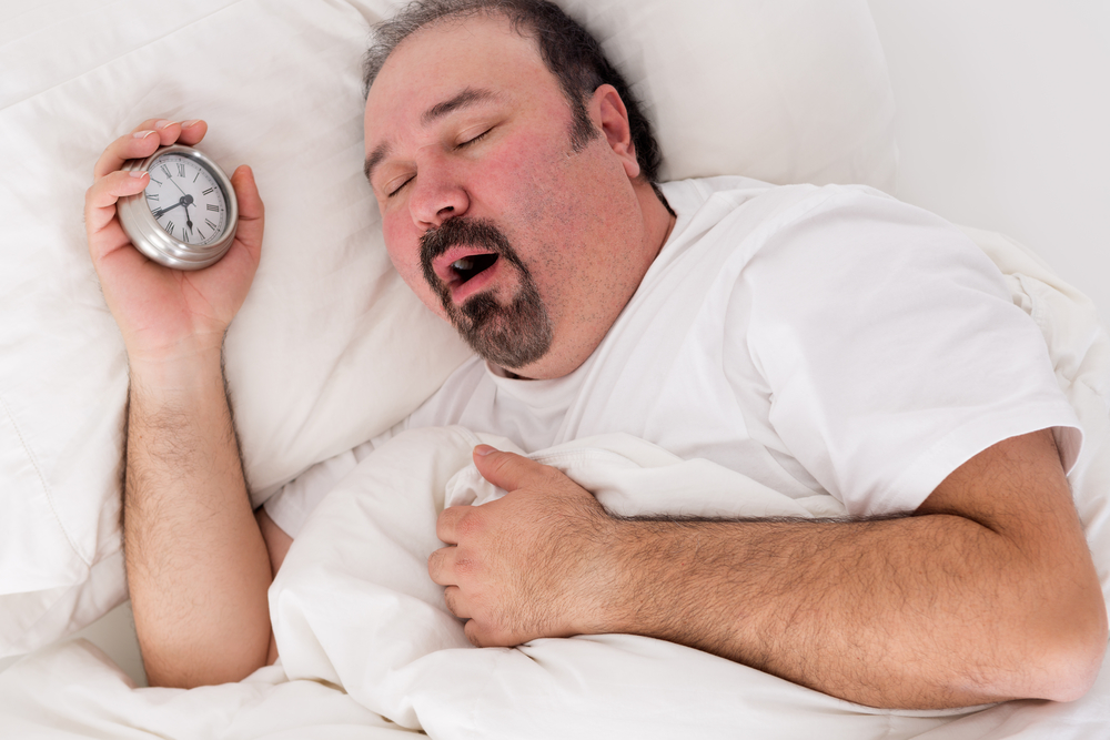 snoring and sleep apnea cured by weight loss