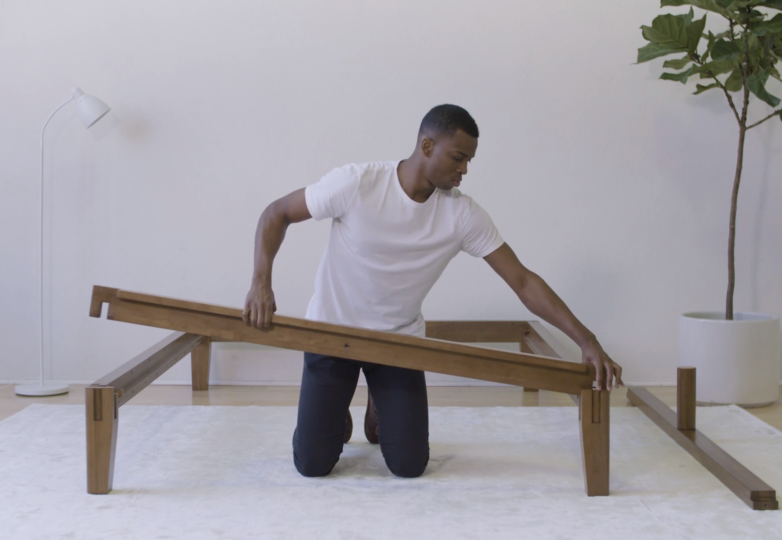 how to put together your thuma bed