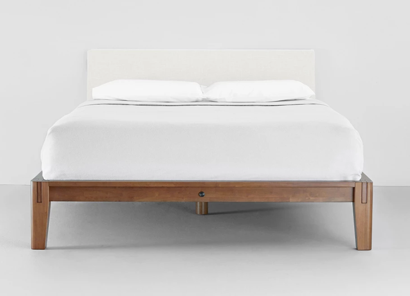 natural linen thuma bed
