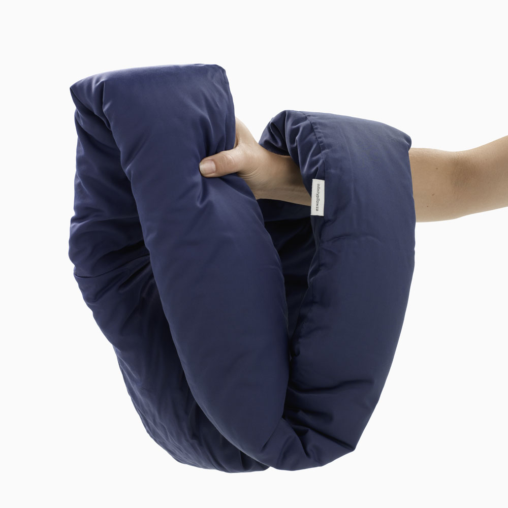 review on the infinite travel pillow