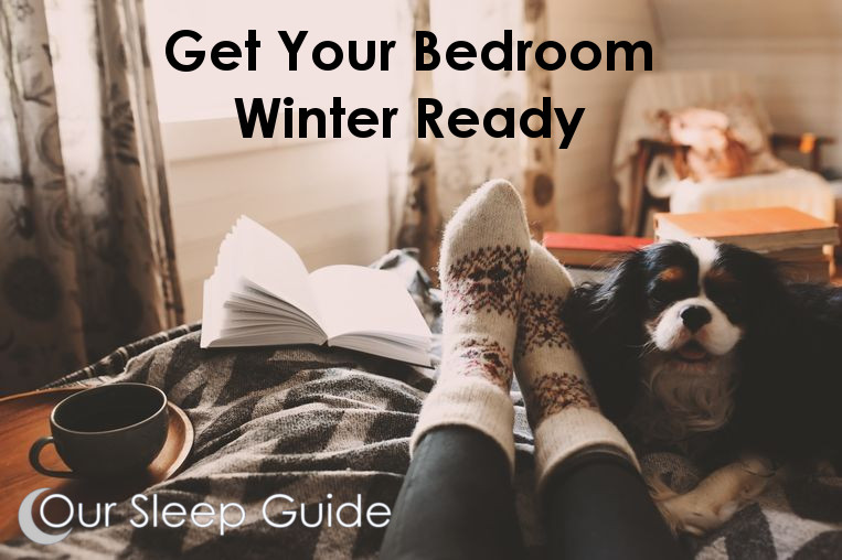 11 Winter Sleep Tips & Get A Winter Ready Bedroom