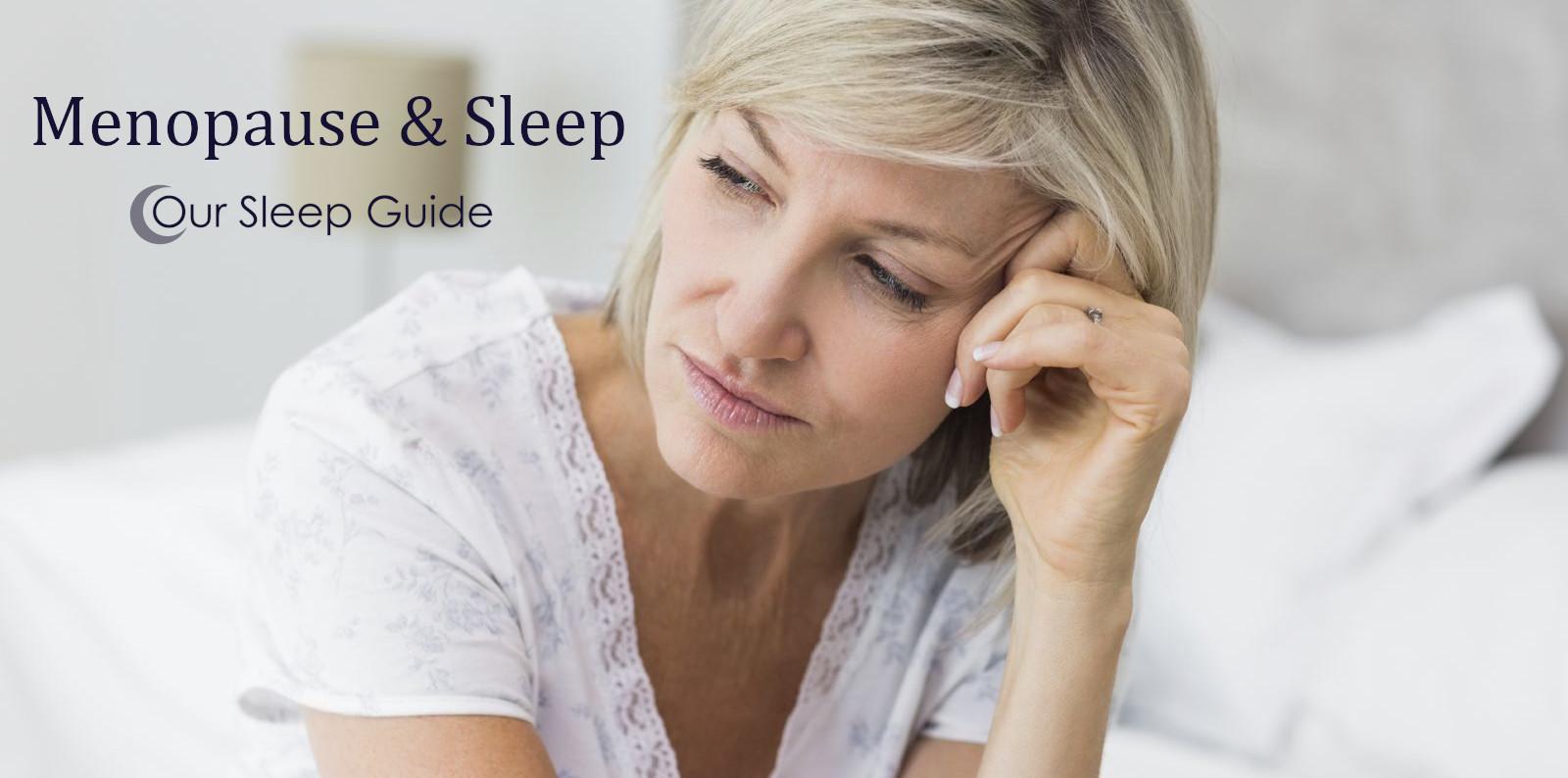 get better sleep with menopausal symptoms