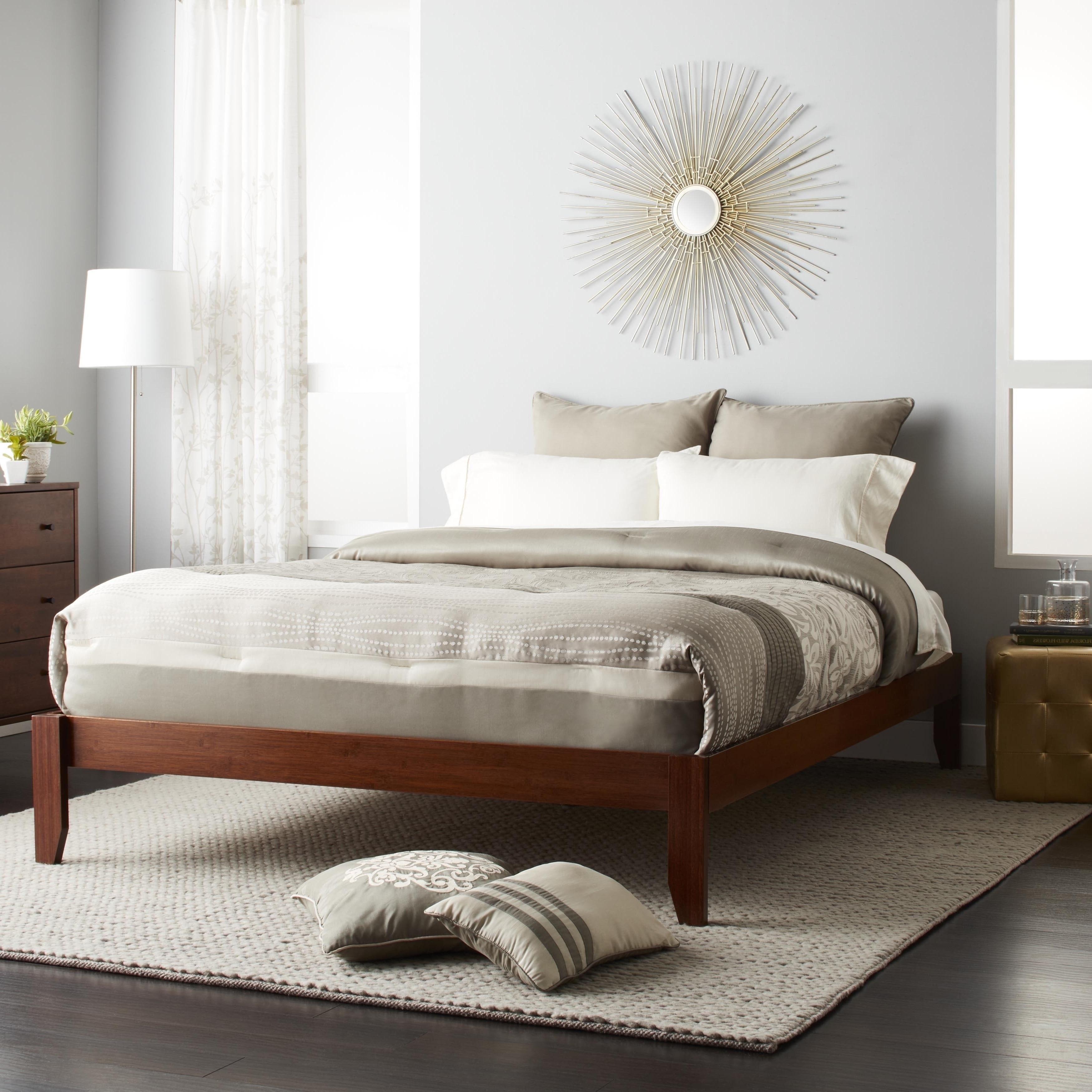 thuma wood platform bed alternative