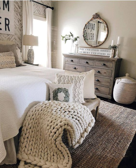 how to design a vintage bedroom on a budget