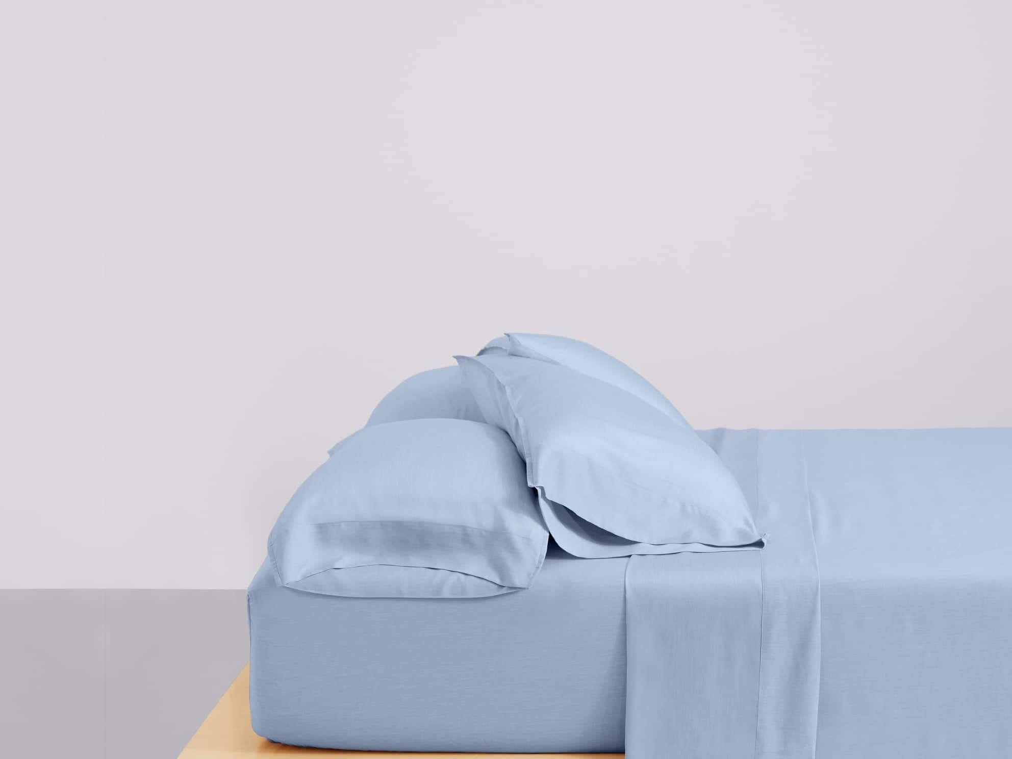 buffy blue eucalyptus sheets set
