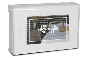 brushed microfiber sheets