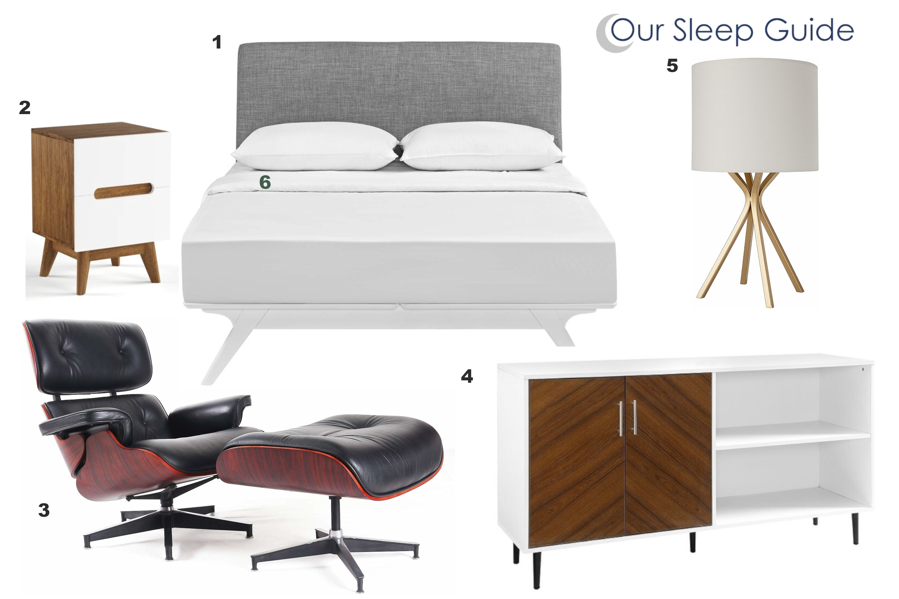 our sleep guides mid century modern bedroom design
