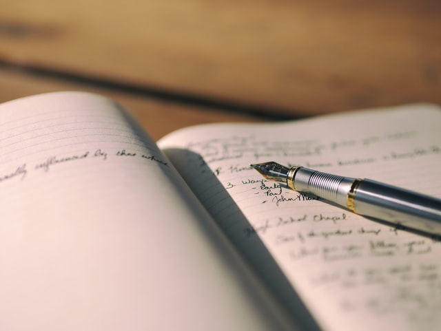 write your bad dreams down in a journal