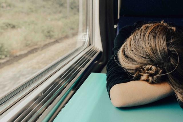 get some sleep during transit