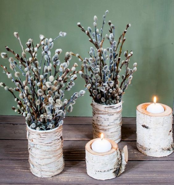 birch fall decor 2019