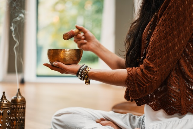 try mediation to calm anxious feelings