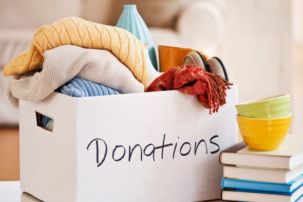 donating clutter