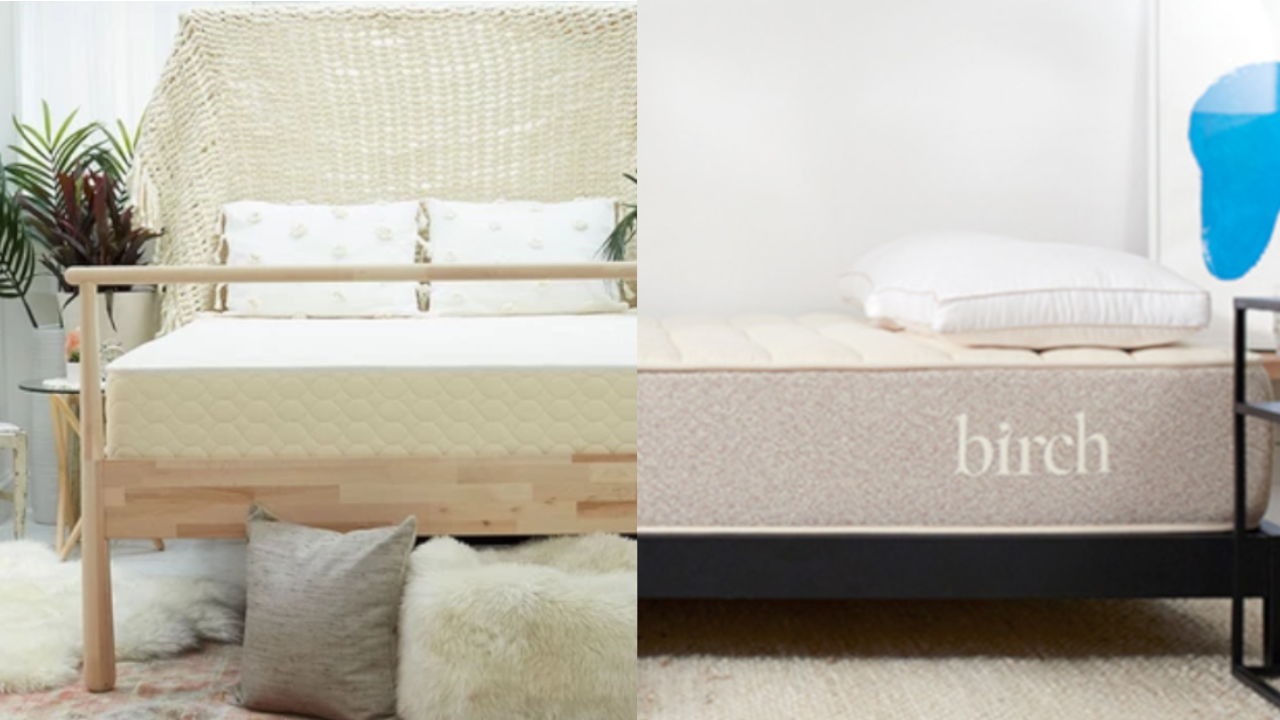ecocloud hybrid mattress vs birch comparison review