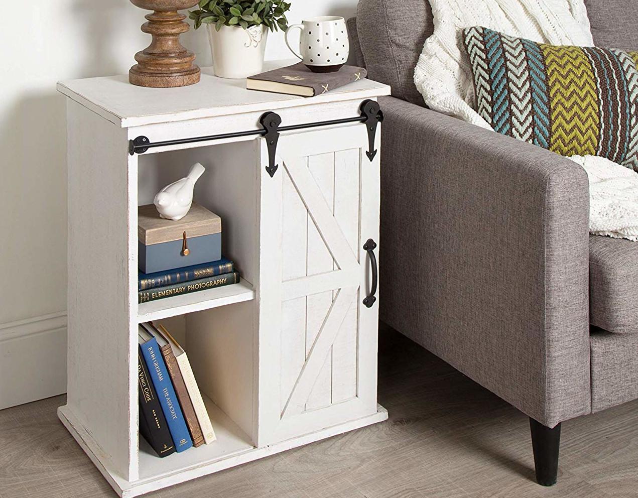 shiplap style nightstand