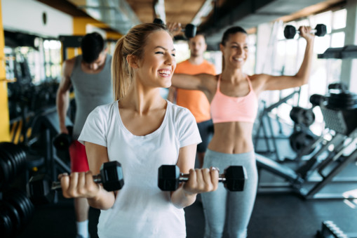 working out and depression