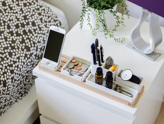 organize your bedside must haves