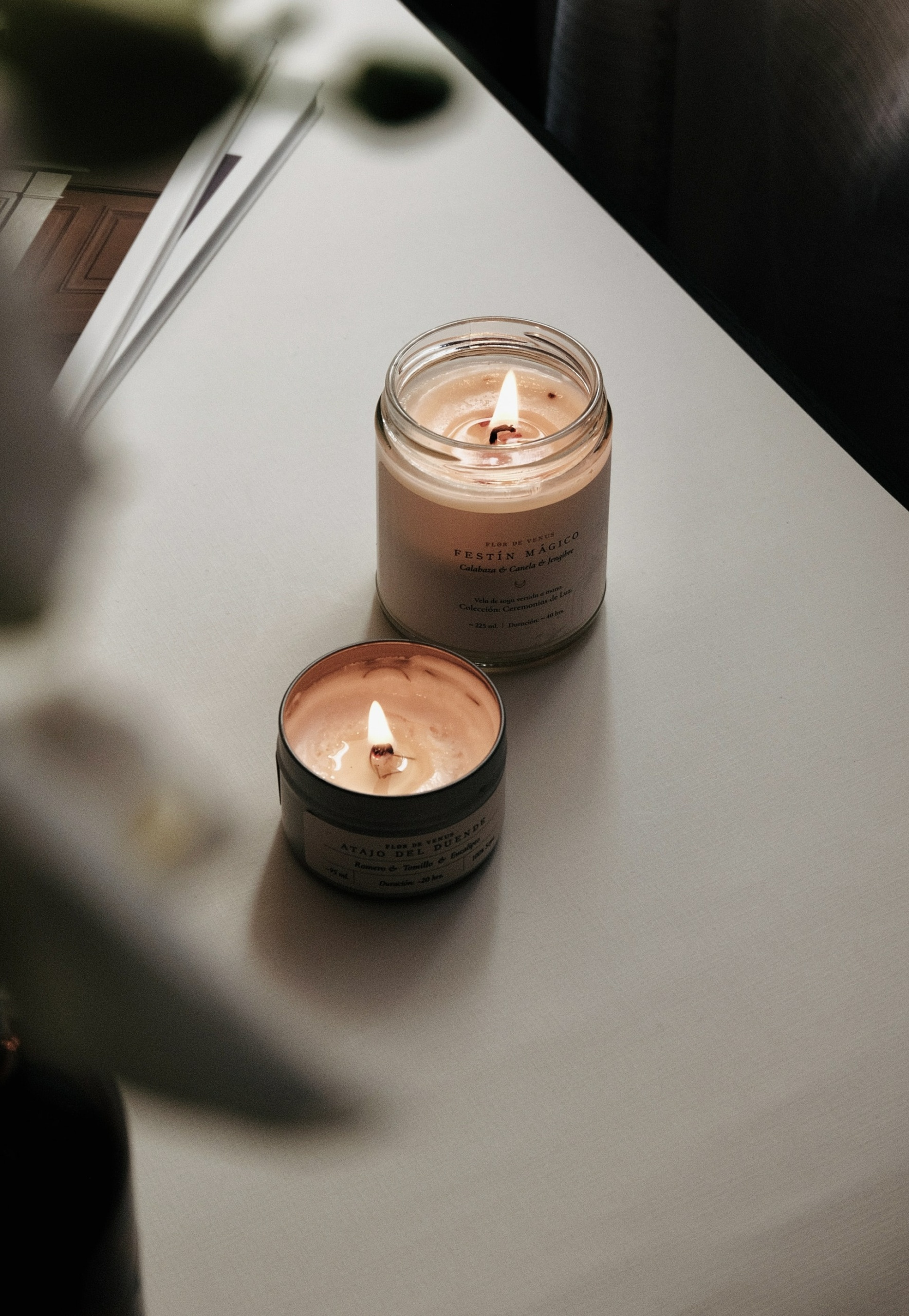 the dangers of scented candles in the bedroom