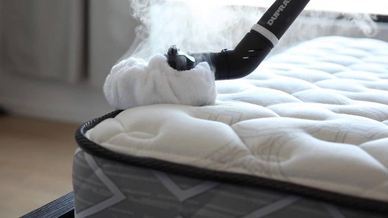 steam clean your mattress