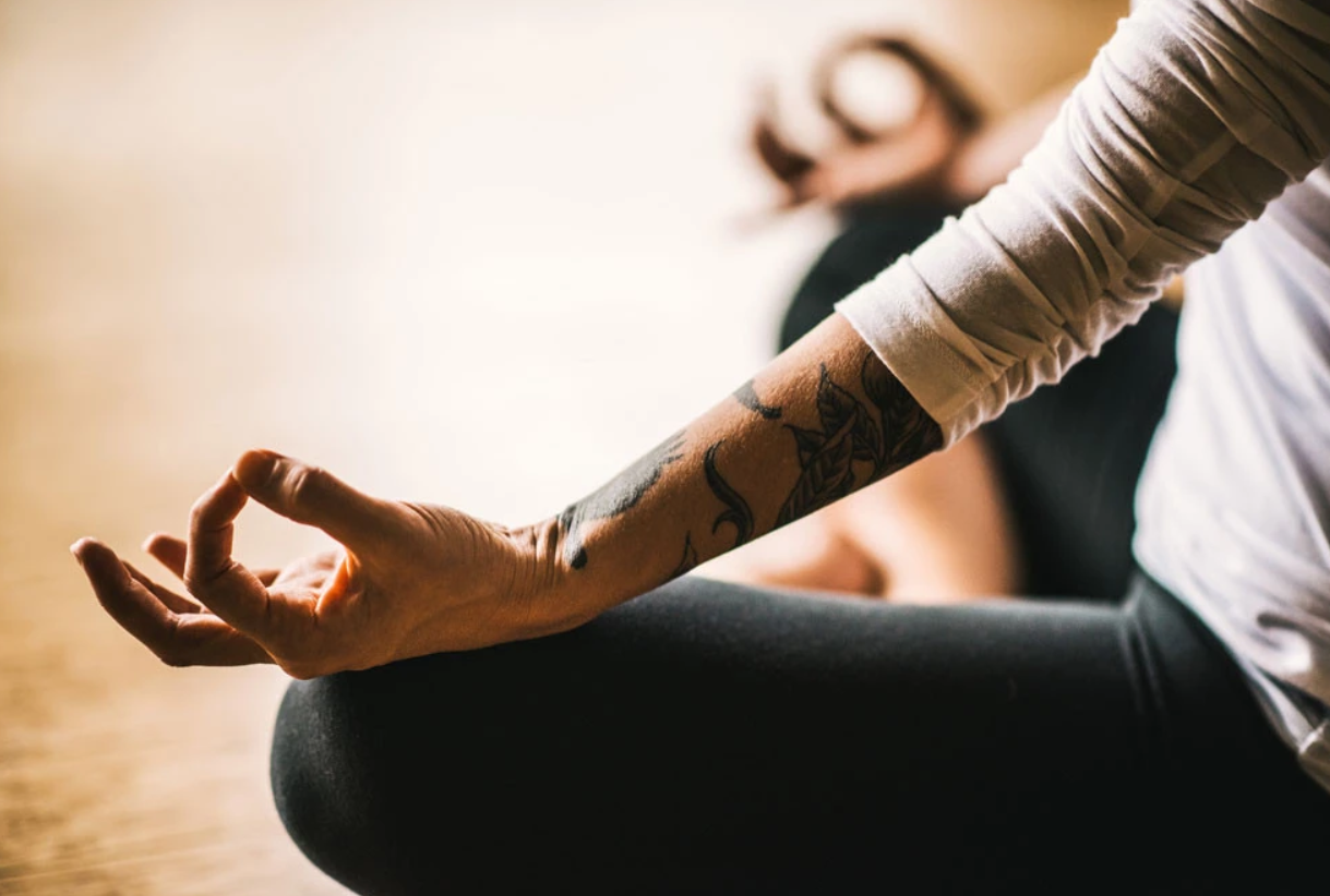 meditate in order to calm yourself down