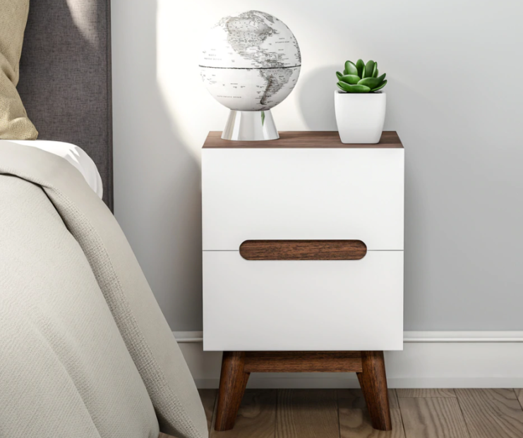furniture on a budget for mid-century modern design