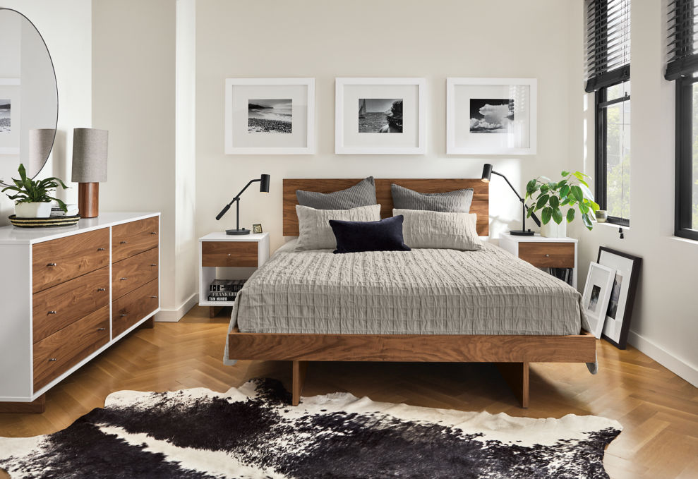 design your mid century modern bedroom on a budget