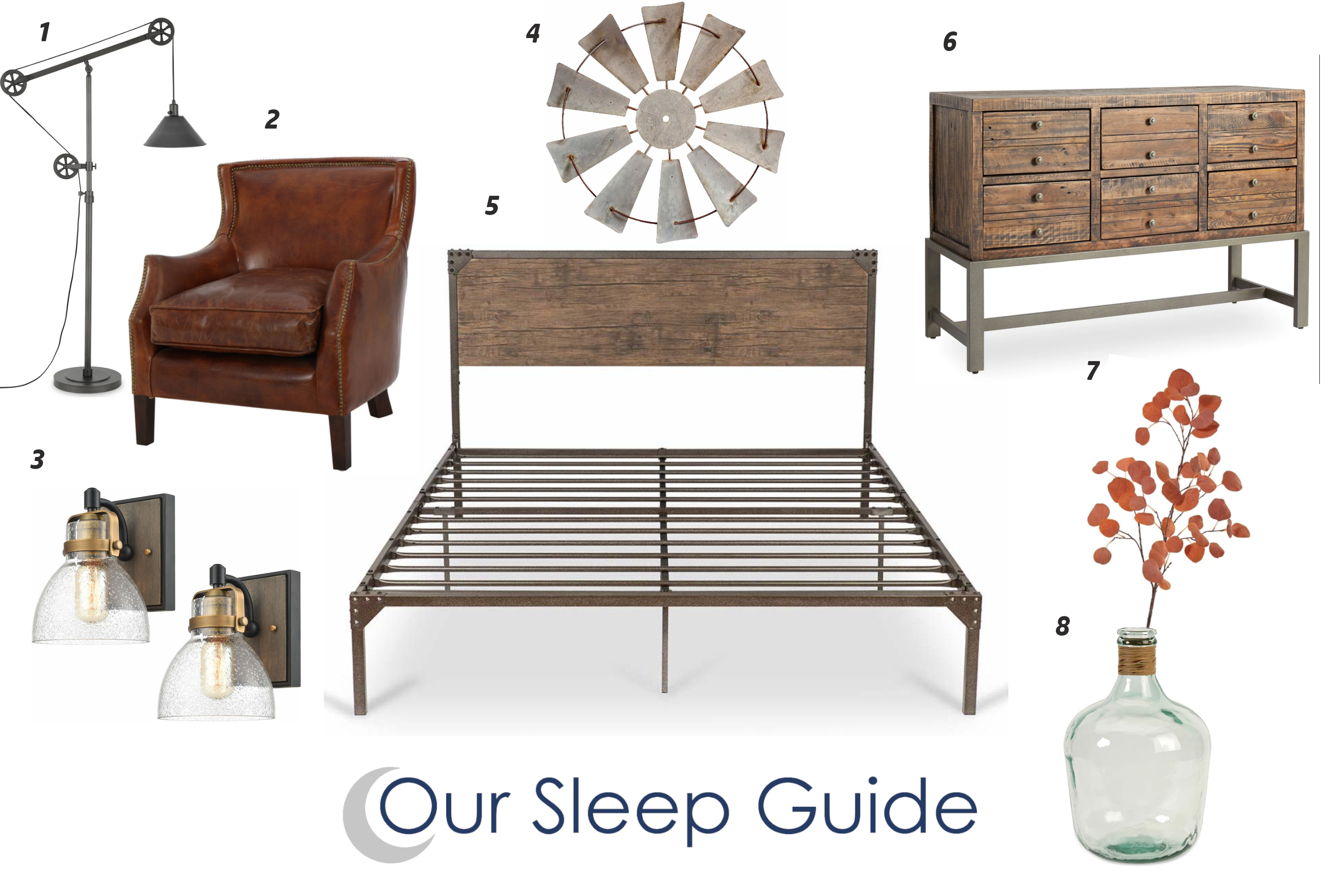 our sleep guide rustic bedroom decor