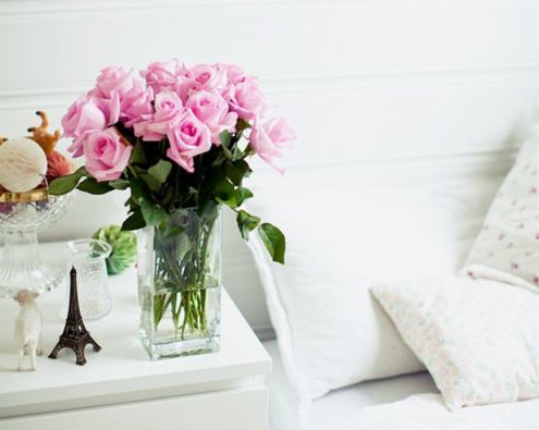 simple floral designs for the bedroom
