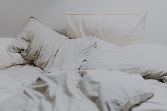 stay in bed even if you are not asleep
