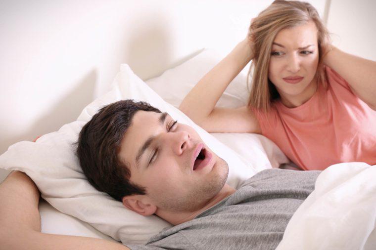 sleep without snoring partner