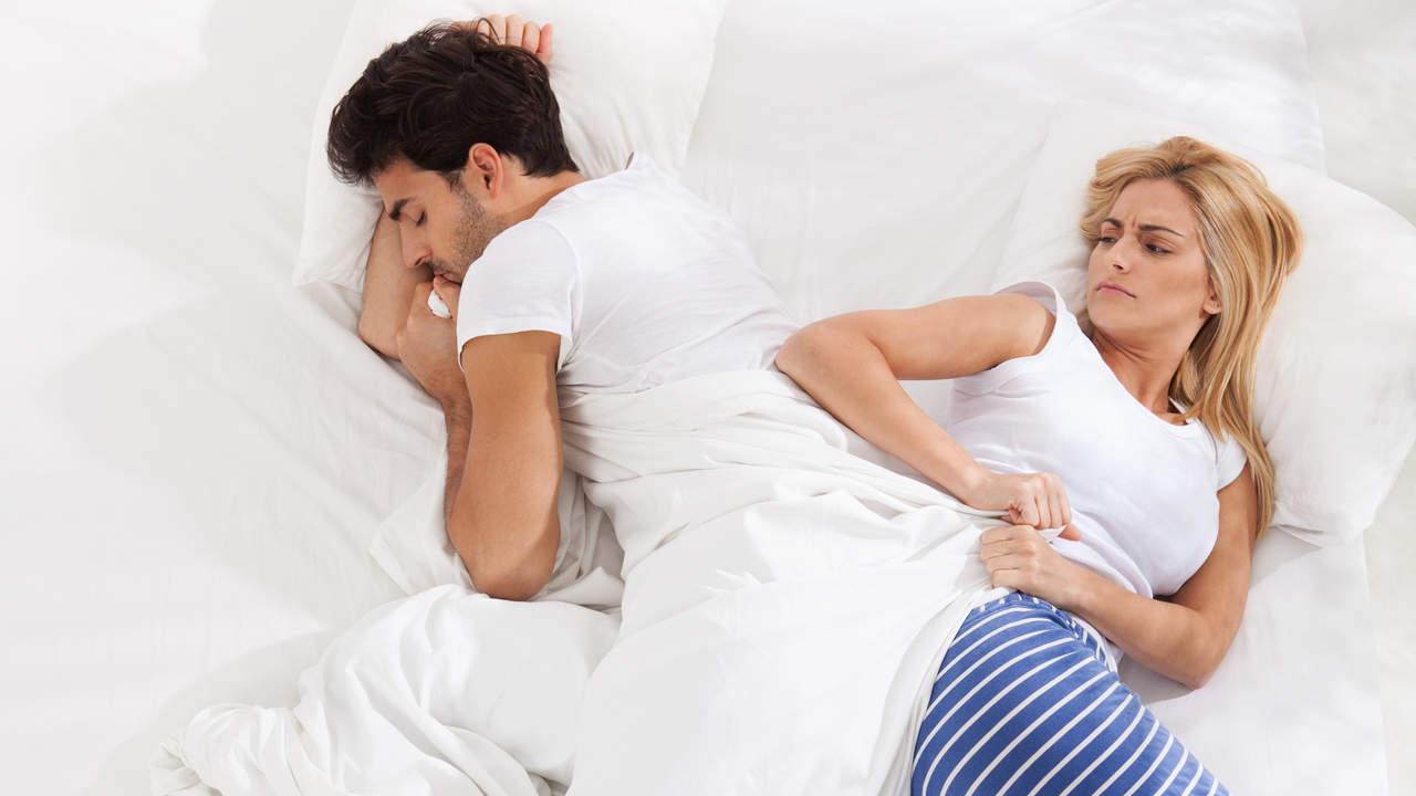 hogging the blankets disrupts your partner