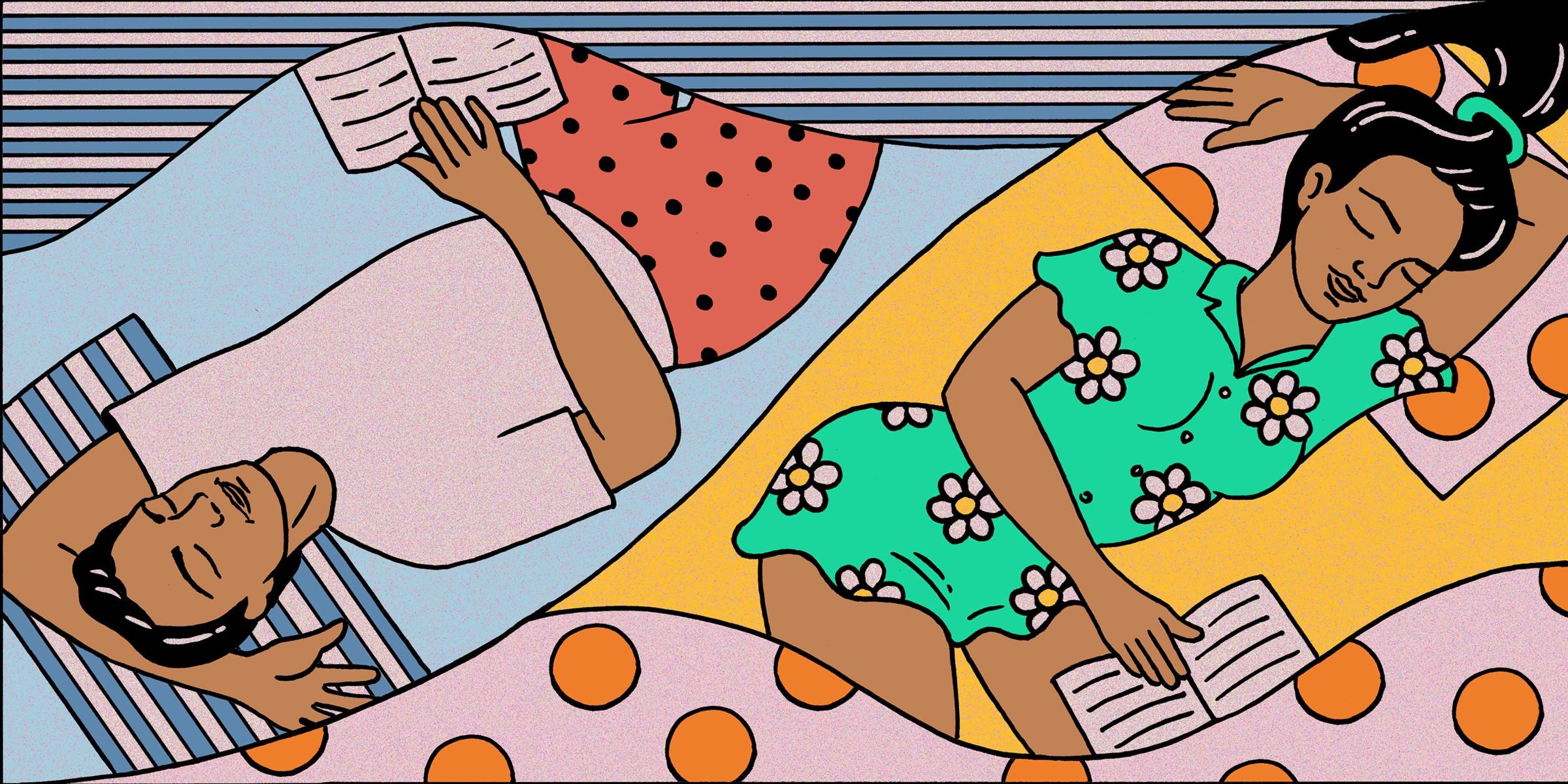 get better sleep at night - sleep divorce
