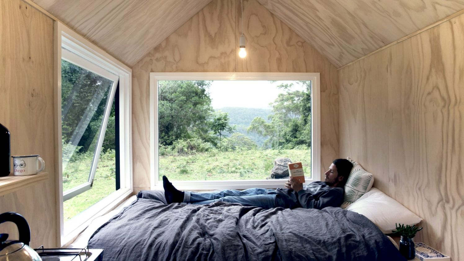 major lack of privacy in a tiny house