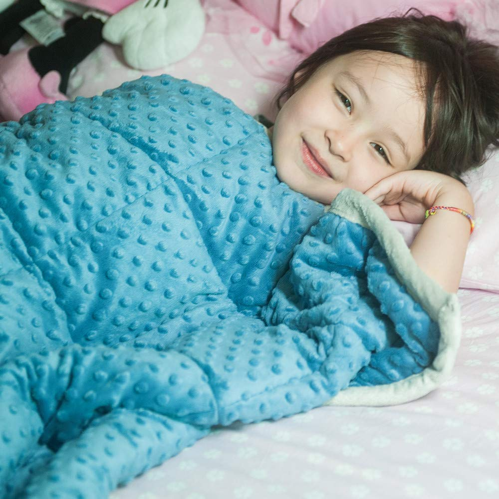 what to know about weighted blankets for kids