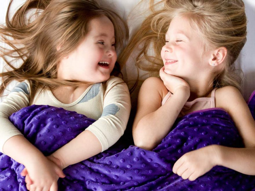 why weighted blanket is good for children