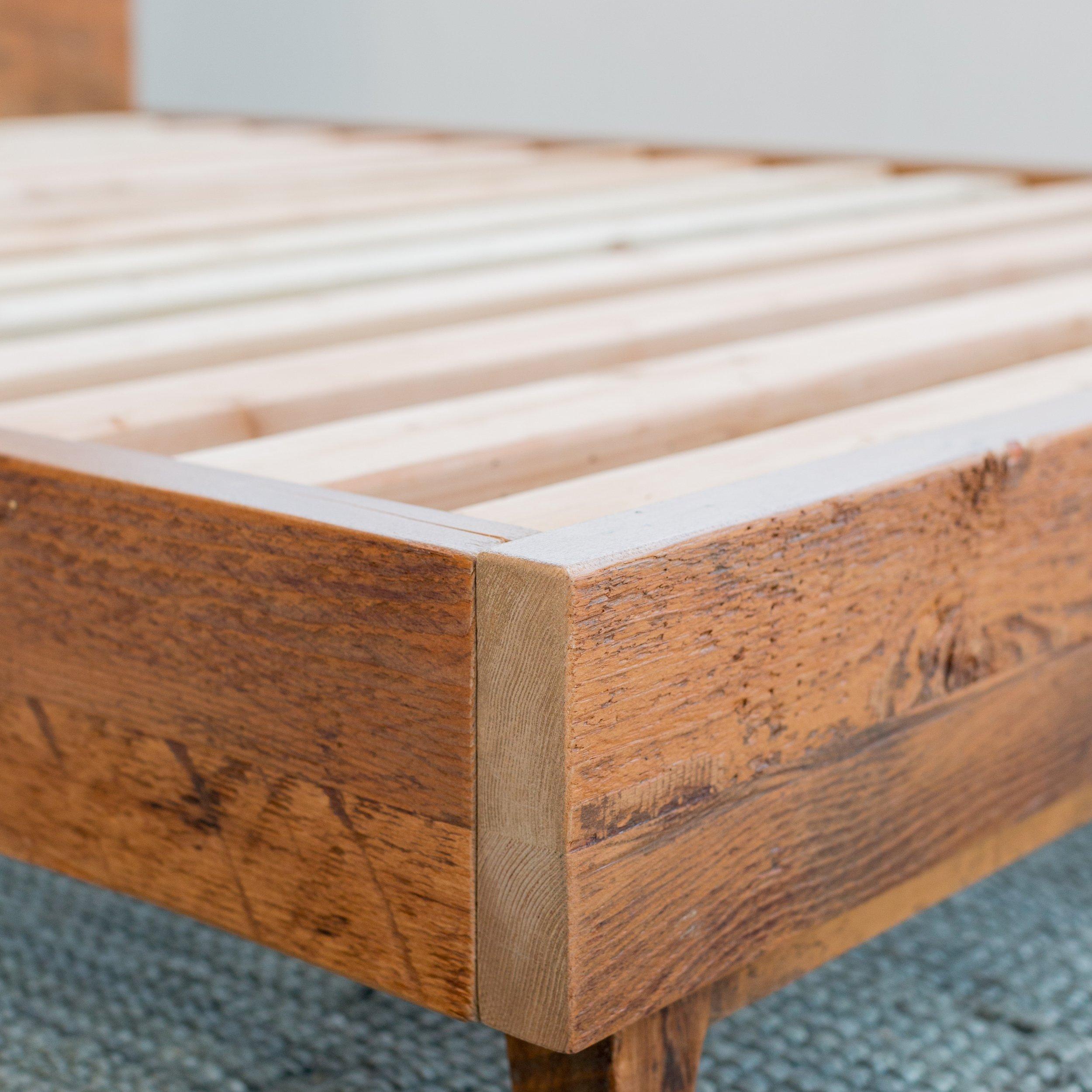 rough wooden furniture
