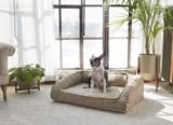 Cozy Cabin Modern Dog Bed